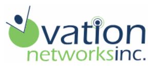 Ovation Networks Inc Logo