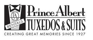 Prince Albert Tuxedos Logo