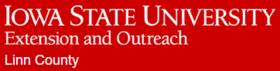 Iowa State Extension & Outreach Linn County Logo